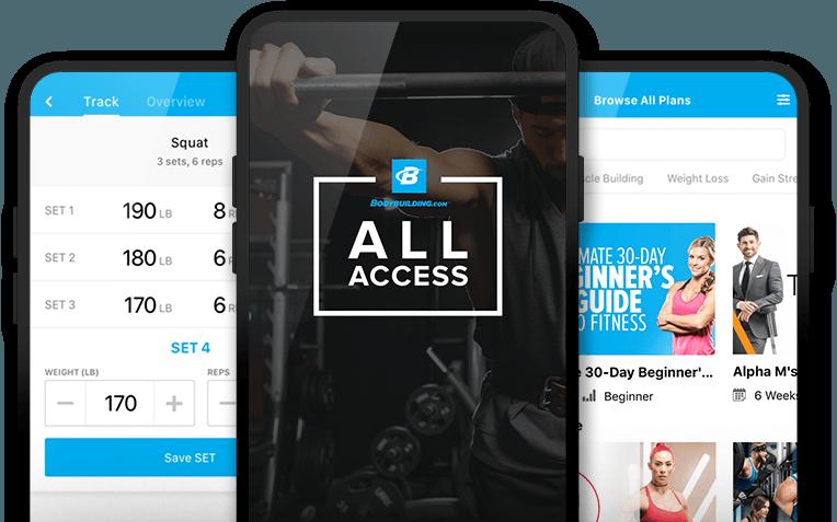 All Access   Bodybuilding com