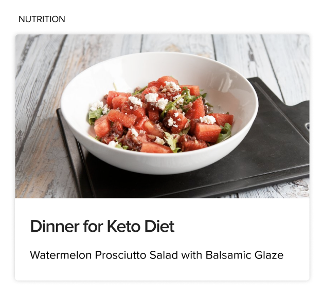 BodyFit Keto Diet Nutrition Article